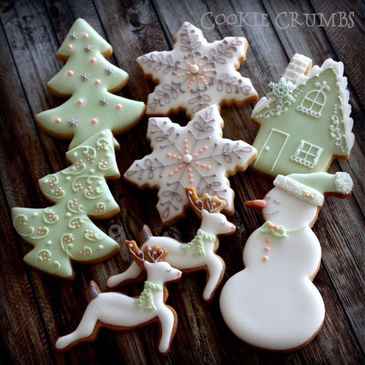 Elegant Christmas Cookies  642 best images about Elegant Christmas decor Christmas