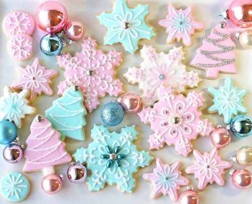 Elegant Christmas Cookies  elegant christmas cookies My Easy Recipes