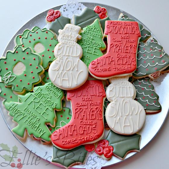 Elegant Christmas Cookies  December 2012