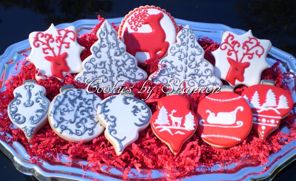 Elegant Christmas Cookies  Elegant Christmas