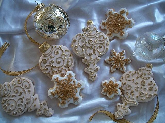 Elegant Christmas Cookies  so elegant Christmas Cookies