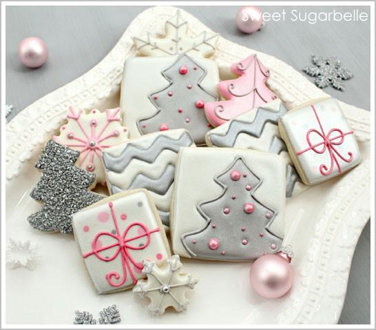 Elegant Christmas Cookies  DIY Modern Christmas Cookies