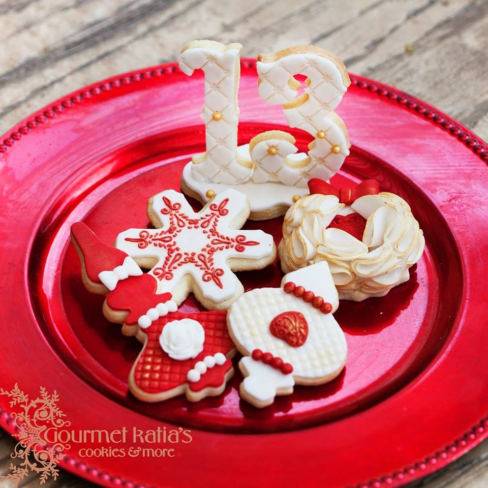 Elegant Christmas Cookies  Elegant Christmas Cookies CakeCentral