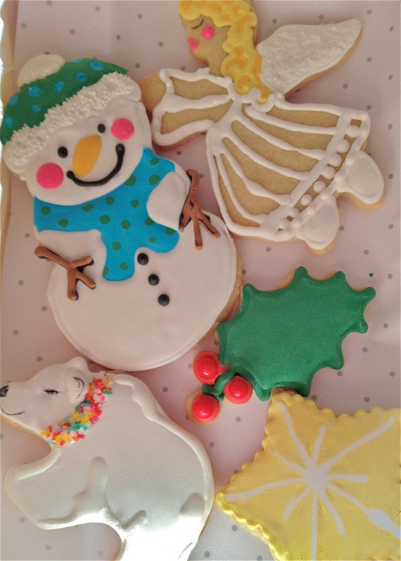 Elegant Christmas Cookies  elegant Christmas cookies holiday cookie assortment snowflake