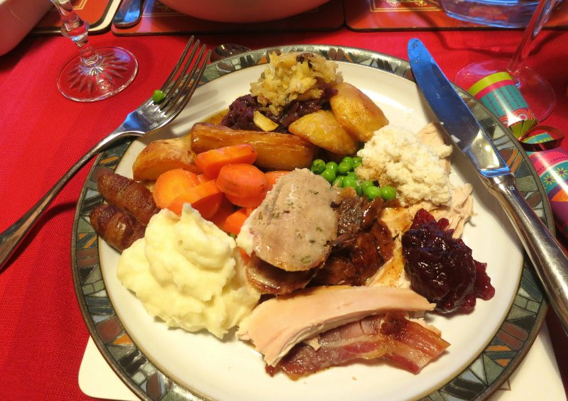 English Christmas Dinner  A culinary world tour of Christmas foods