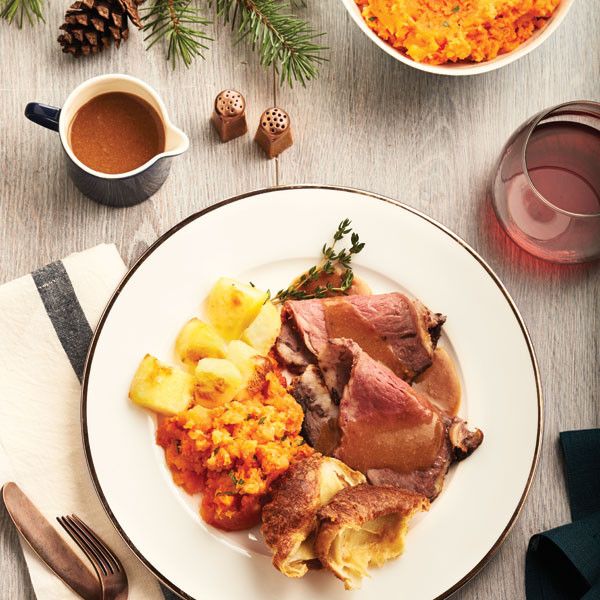 English Christmas Dinner  Holiday dinner menu Chatelaine