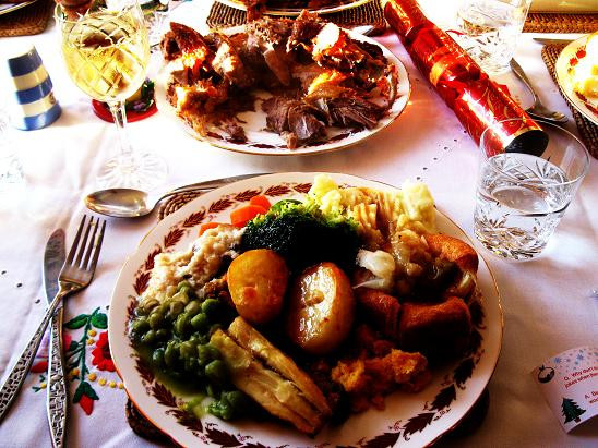 English Christmas Dinner  England – exploringly yours
