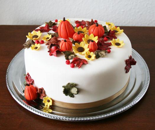 Fall Birthday Cake  Fall inspired birthday cake • CakeJournal