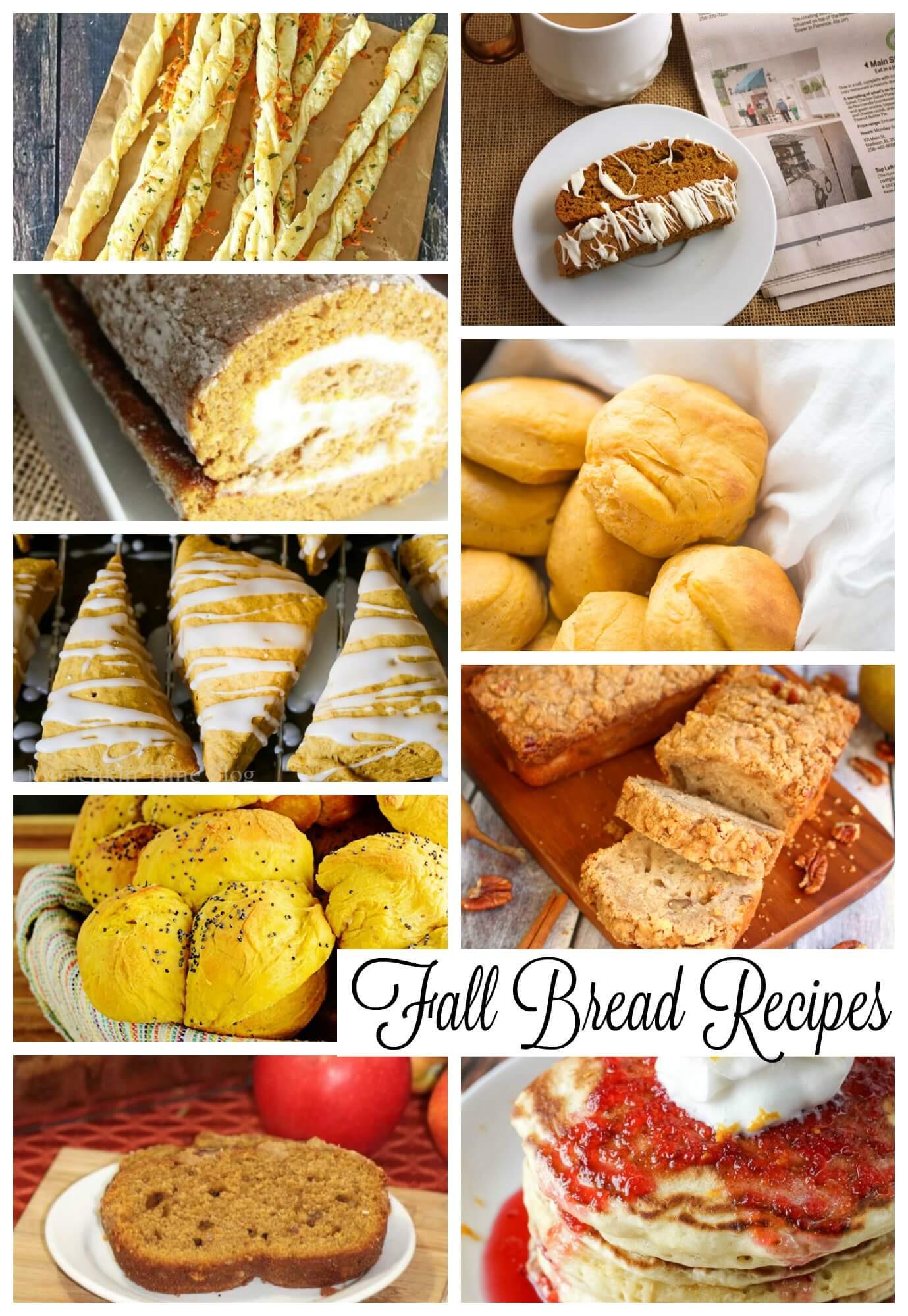 Fall Bread Recipes  Fall Bread Recipes Life Sew Savory
