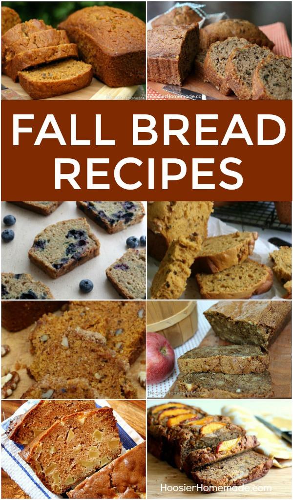 Fall Bread Recipes  Fall Bread Recipes Hoosier Homemade