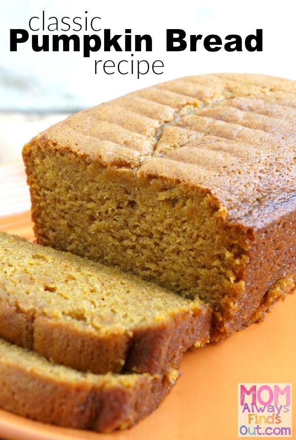 Fall Bread Recipes  25 best ideas about Easy pumpkin bread on Pinterest