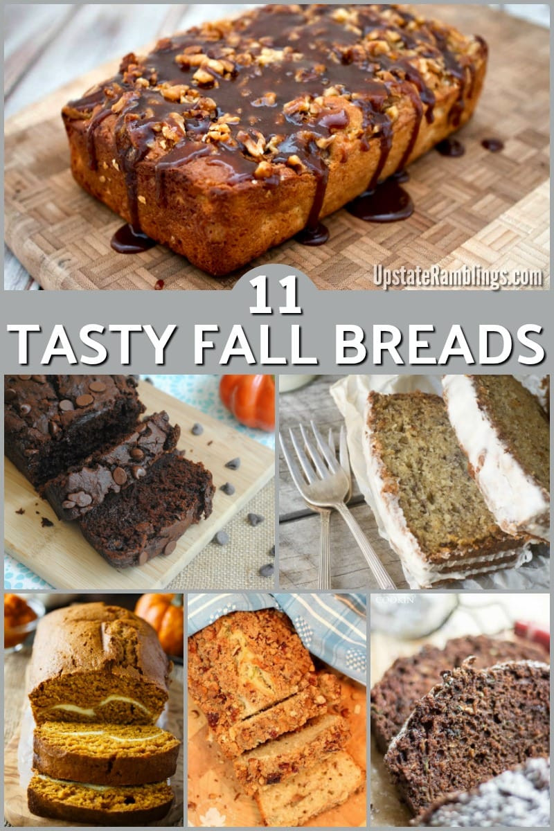 Fall Bread Recipes  11 Tasty Fall Bread Recipes Upstate Ramblings