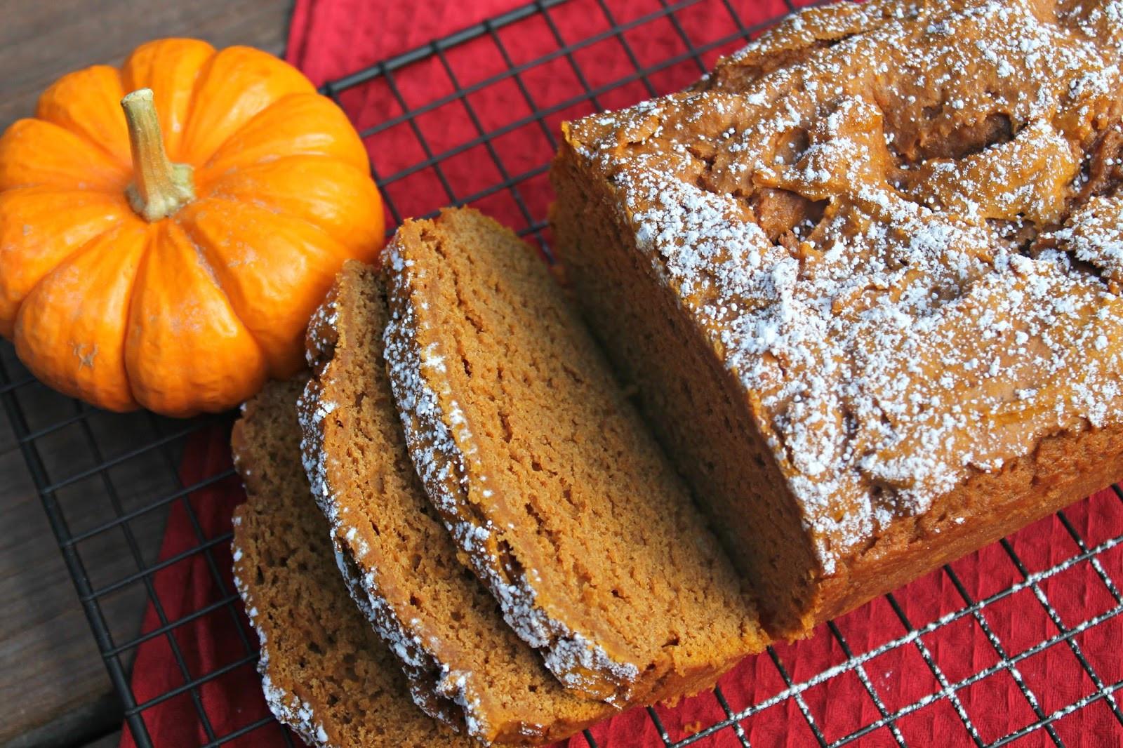 Fall Bread Recipes  Easy Pumpkin Bread Carolina Charm