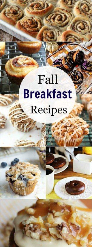 Fall Breakfast Recipes  Fall Breakfast Recipes The Melrose Family