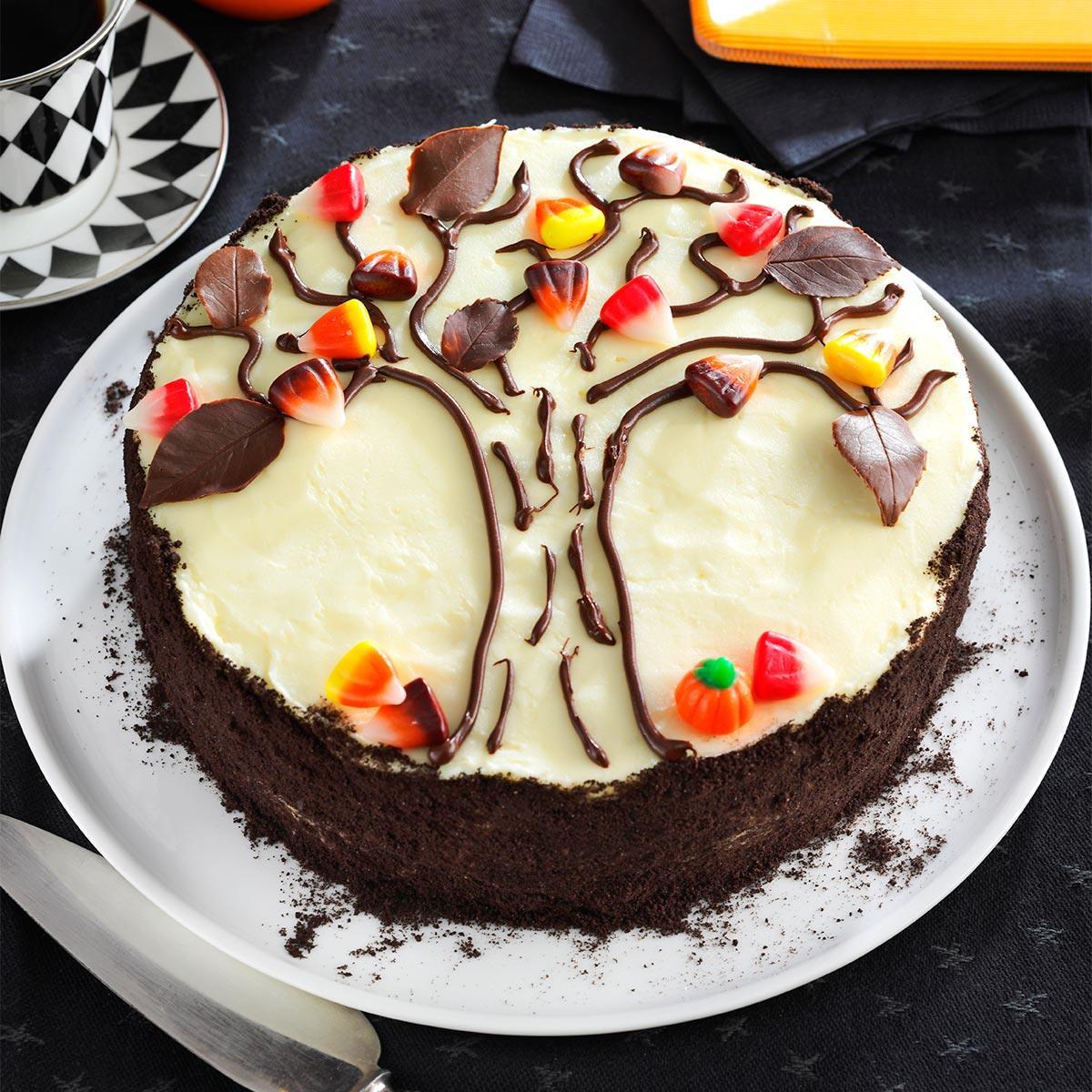 Fall Cake Recipes  Autumn Tree Cake Recipe