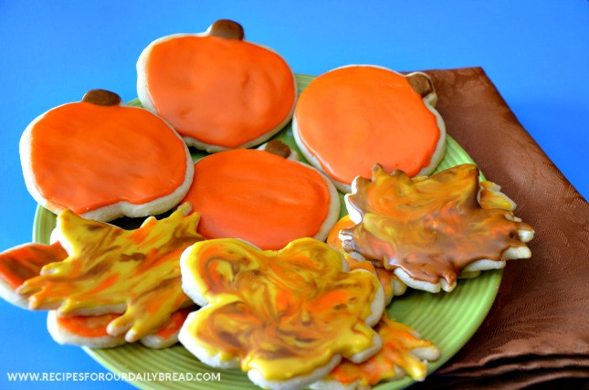 Fall Cut Out Cookies  Page not found Recipes For Our Daily Bread