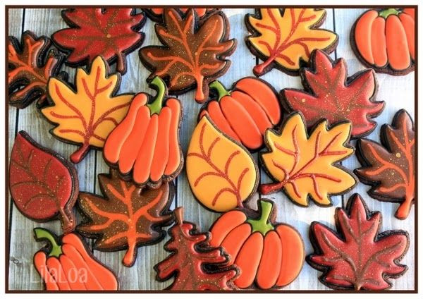 Fall Cut Out Cookies  Best 25 Leaf cookies ideas on Pinterest