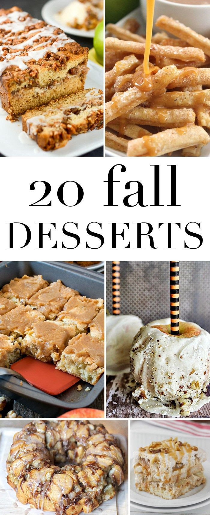 Fall Dessert Recipes  92 best images about Seasonal Fall on Pinterest