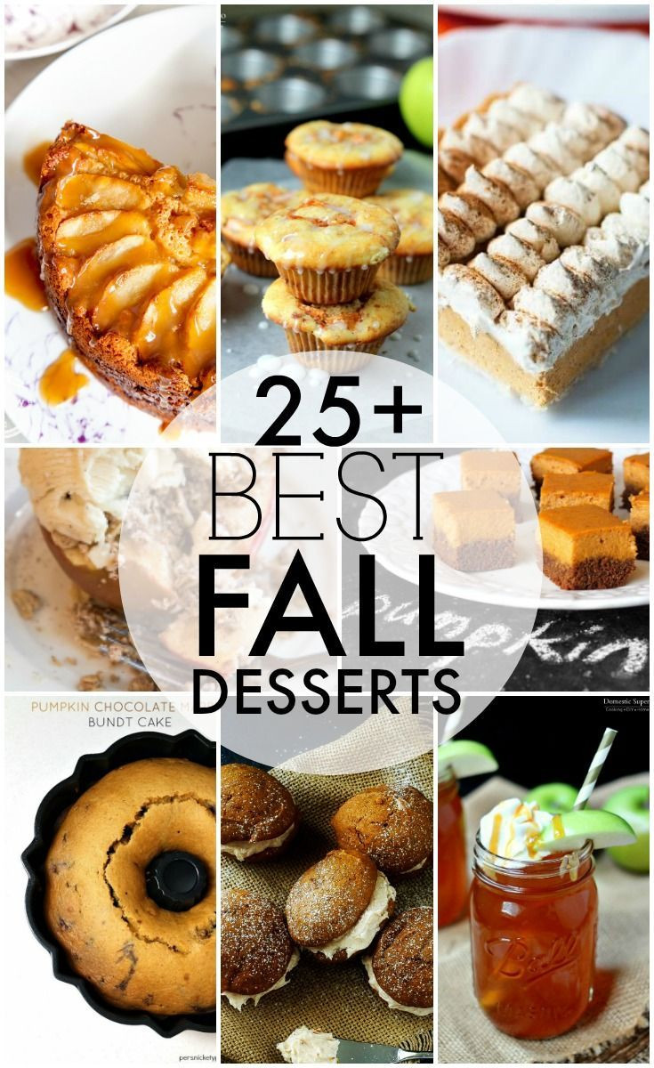 Fall Dessert Recipes  17 Best images about Fall Crafts Recipes and Ideas on