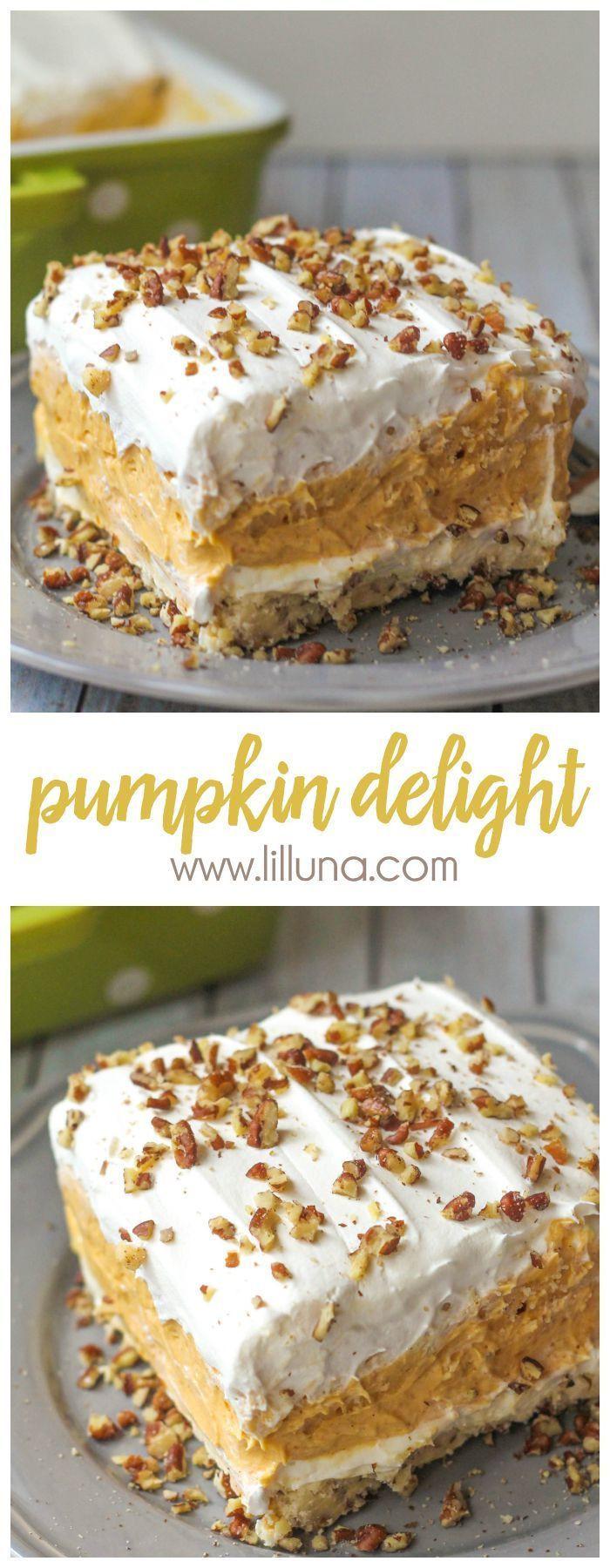 Fall Desserts Recipe  2206 best Fall PUMPKIN Desserts Recipes images on