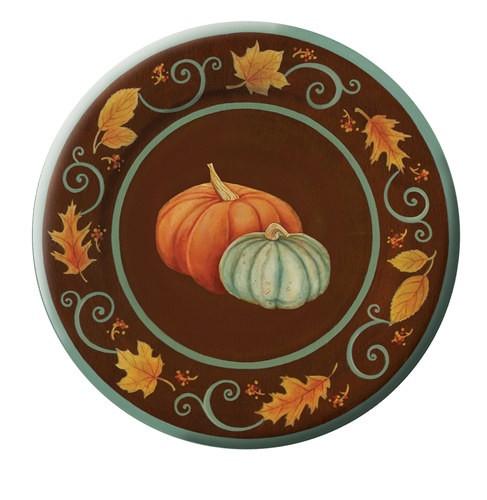 Fall Dinner Plates  Autumn Scroll Dinner Plates 8 pkg PartyCheap