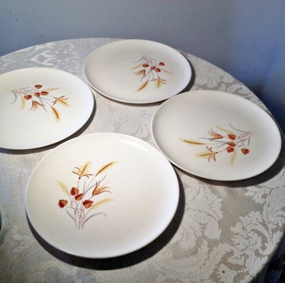 Fall Dinner Plates  Autumn Harvest Dinner Plates by Taylor Smith and Taylor