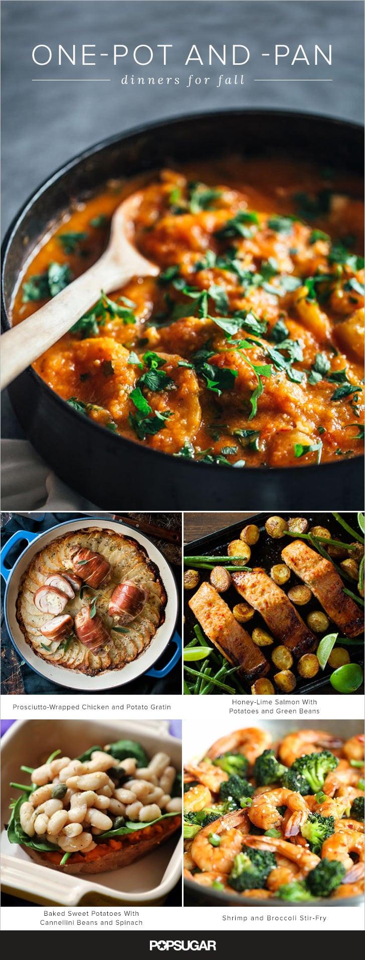 Fall Dinner Recipes  e Pot Fall Dinner Recipes