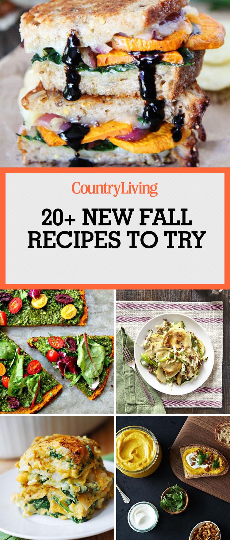 Fall Dinner Recipes  30 Easy Fall Recipes Best Fall Dinner Ideas
