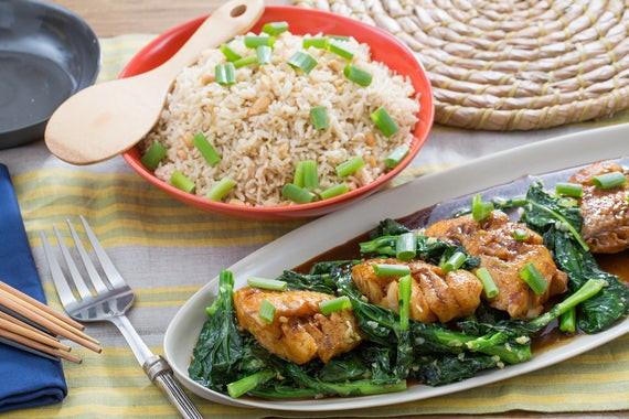Fall Fish Recipes  Recipe Star Anise & Soy Glazed Cod with Gai Lan & Cashew