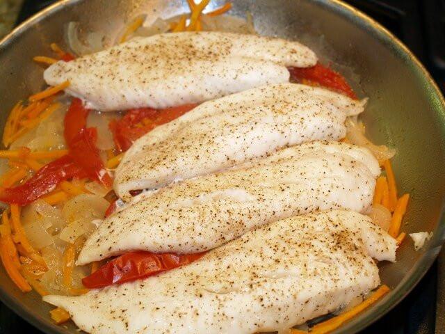 Fall Fish Recipes  Autumn Tomato Tilapia Skillet Recipe