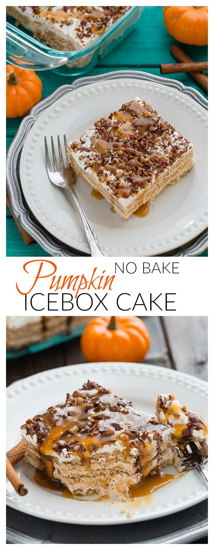 Fall Flavors For Desserts  Pumpkin Ice Box Cake is the perfect easy no bake fall