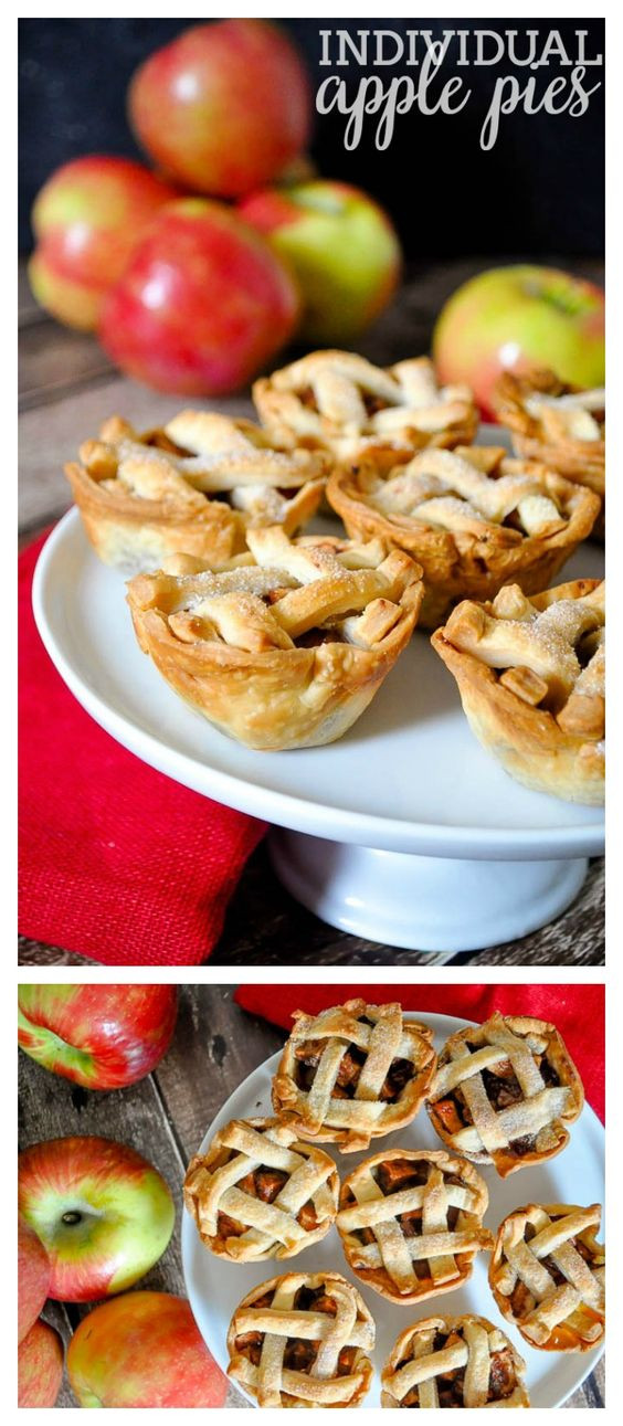 Fall Flavors For Desserts  Individual Apple Pies Recipe