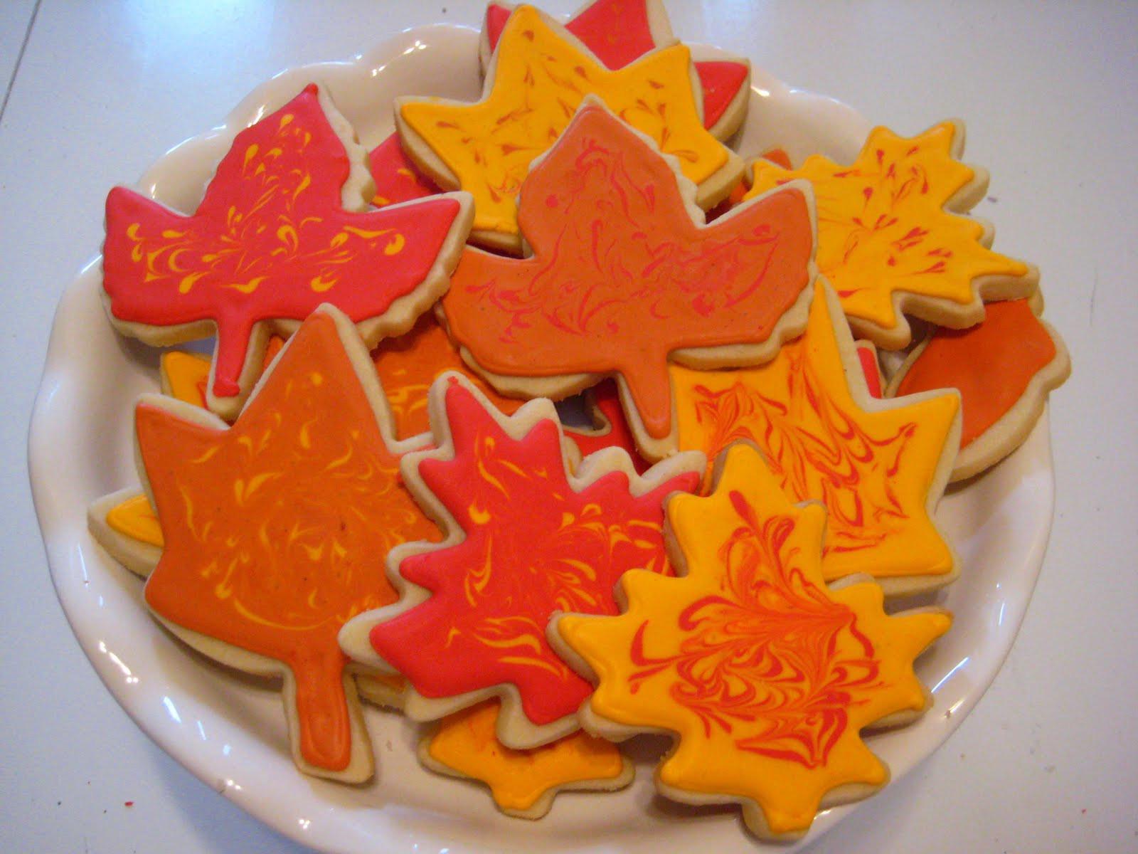Fall Leaf Sugar Cookies  Designer Bakery Fall Leaf Sugar Cookies