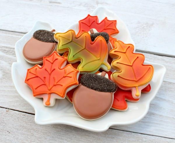 Fall Leaf Sugar Cookies  Easy Autumn Leaves Cookies – The Sweet Adventures of Sugar