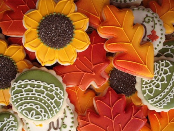 Fall Leaf Sugar Cookies  Twenty Cookie Ideas for Halloween and Fall – The Sweet