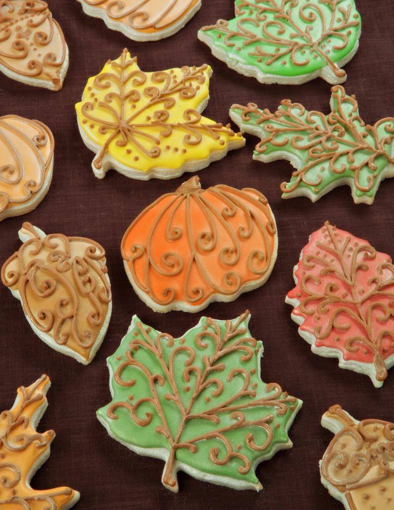 Fall Leaf Sugar Cookies  Fall Leaves Cookies