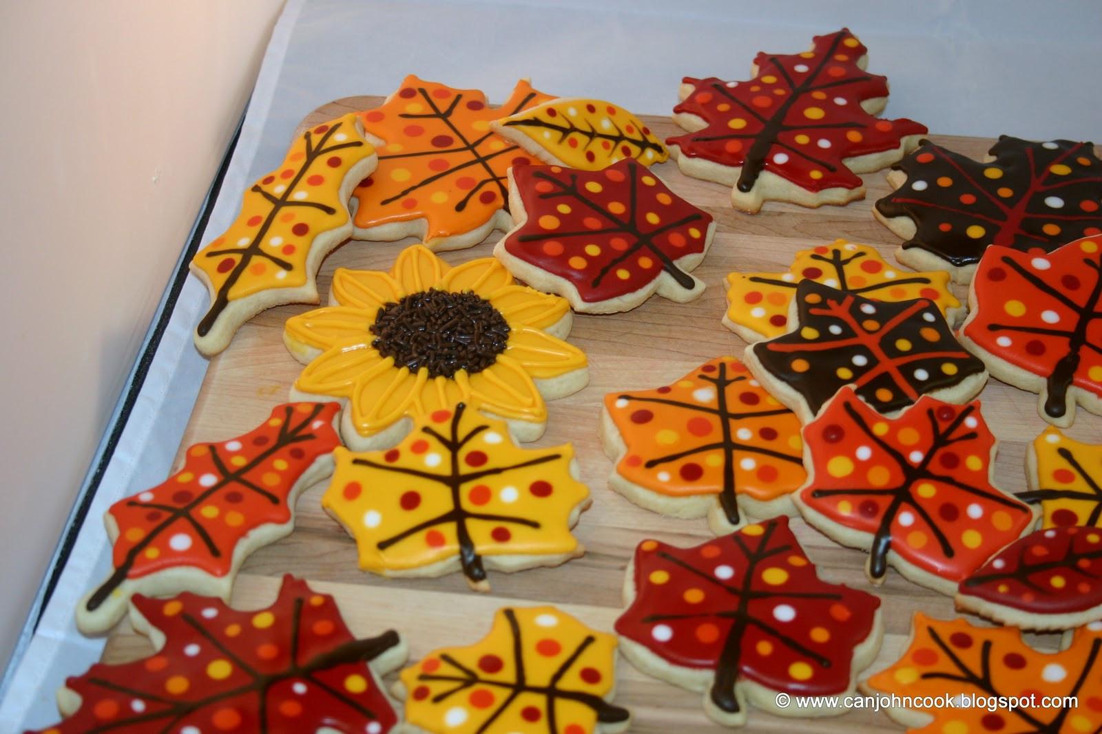 Fall Leaf Sugar Cookies  Snediker s Handcrafted Sugar Cookies Autumn Leaves