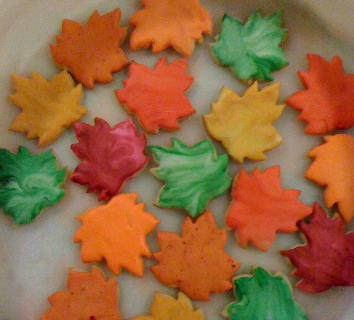 Fall Leaf Sugar Cookies  Cut Me Up Some Sugar Cookies