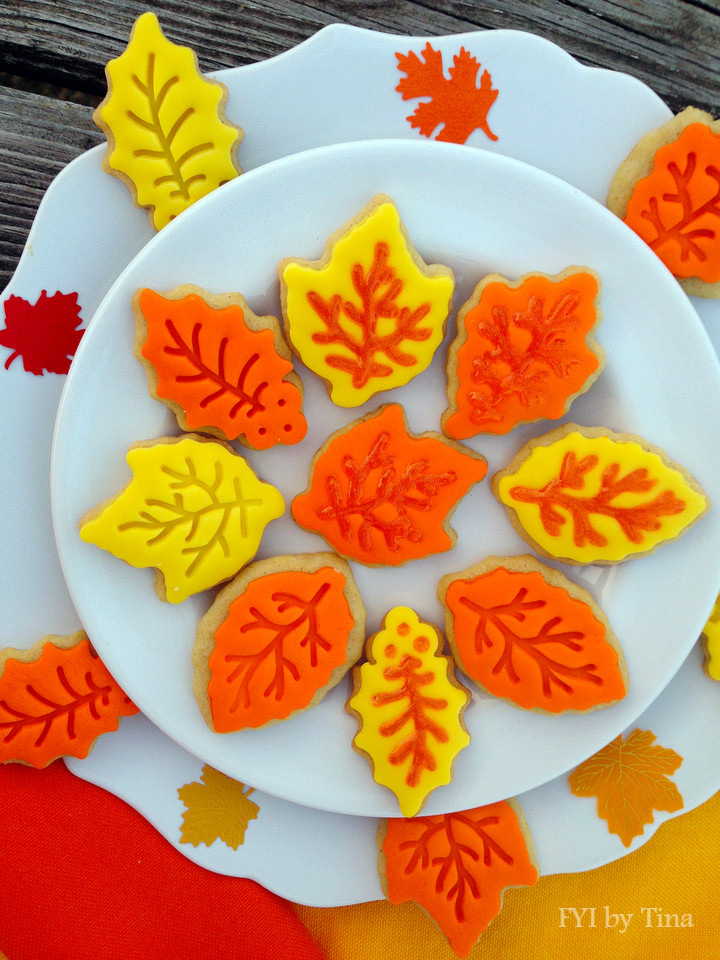 Fall Leaf Sugar Cookies  Fall Leaf Sugar Cookies Recipe