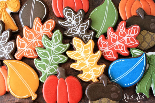 Fall Leaf Sugar Cookies  How To Make Fun Fall Leaf Decorated Cookies