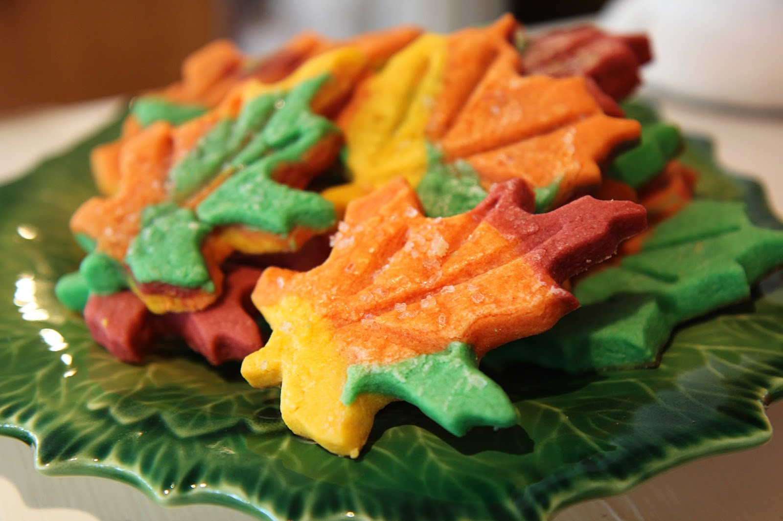 Fall Leaf Sugar Cookies  This Perfect Mess Autumn Leaf Sugar Cookies