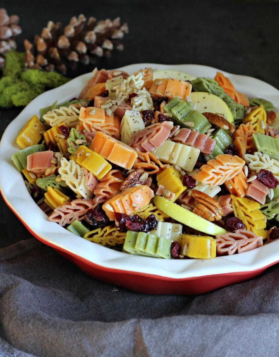 Fall Pasta Salad  Fall Harvest Pasta Salad