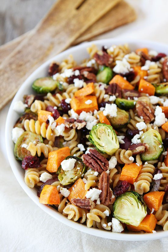 Fall Pasta Salad  Brown Butter Pasta Recipe