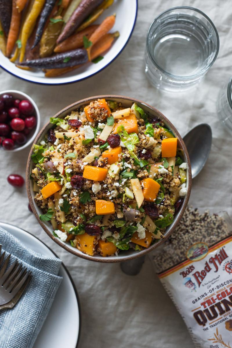 Fall Quinoa Salad  Fall Harvest Quinoa Salad