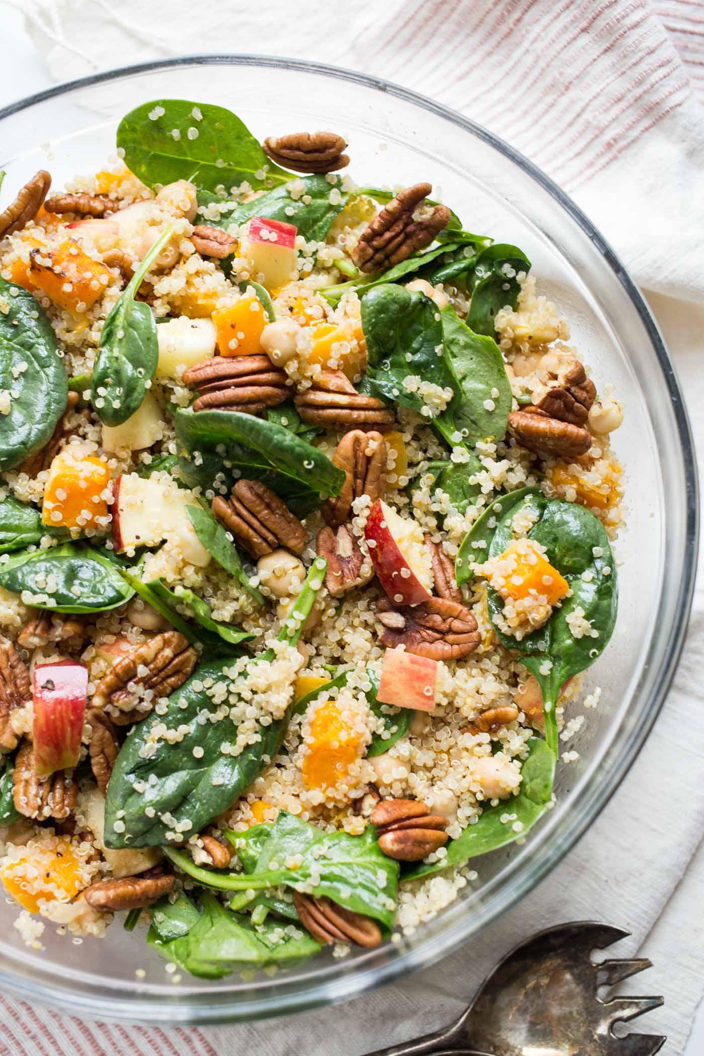 Fall Quinoa Salad  Fall Quinoa Salad with Butternut Squash Simply Quinoa