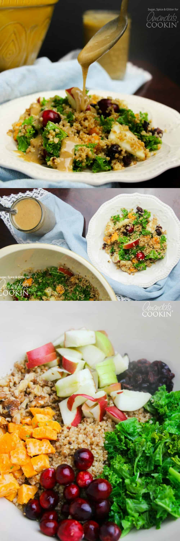 Fall Quinoa Salad  Quinoa Salad a fresh and vibrant fall quinoa salad