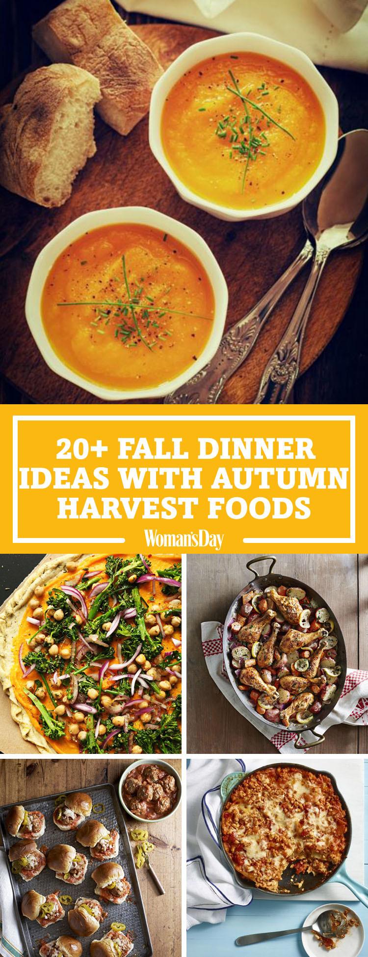 Fall Recipes For Dinner  26 Easy Fall Dinner Ideas Best Dinner Recipes for Autumn