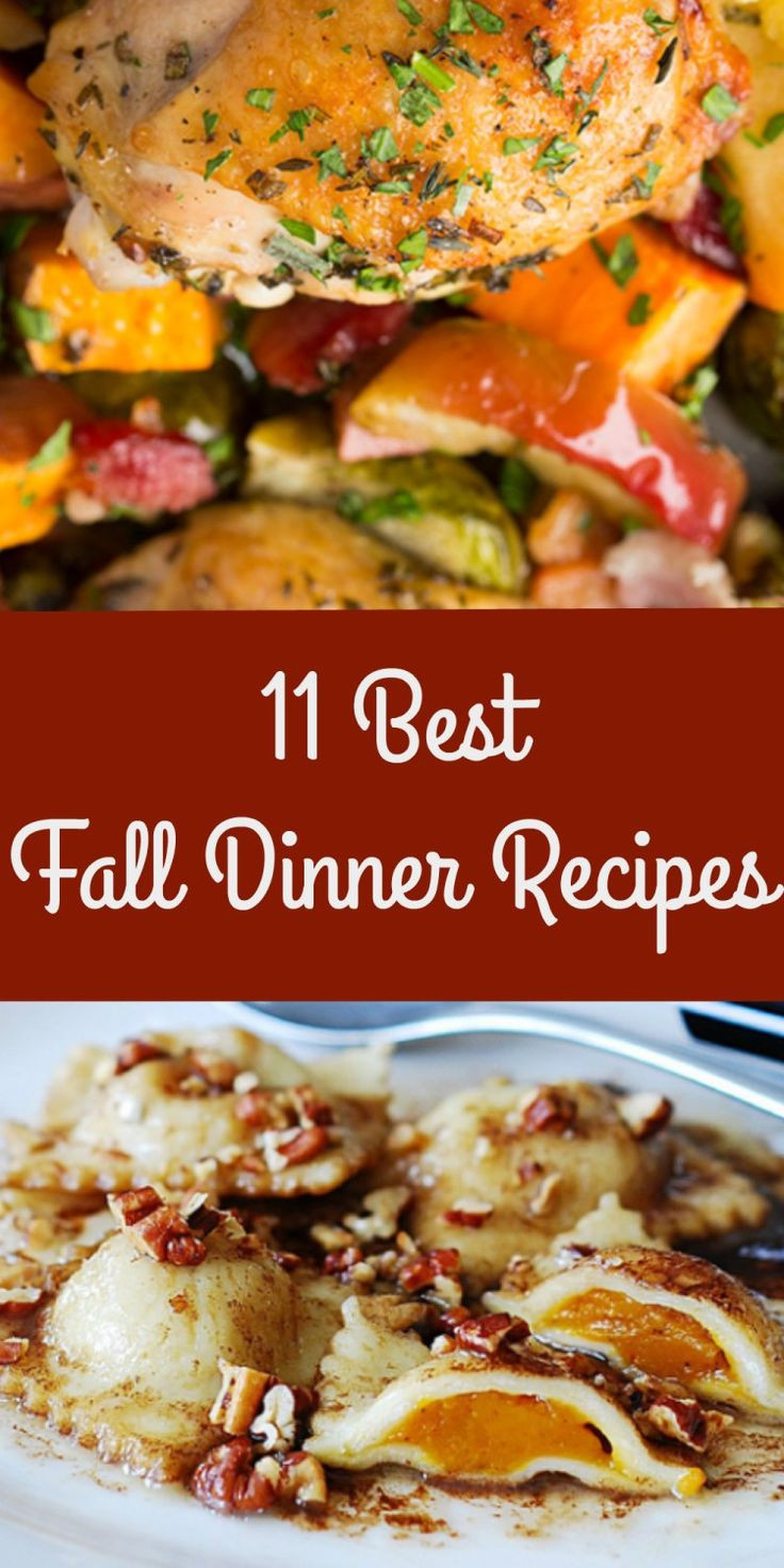 Fall Recipes For Dinner  11 Best Mouthwatering Fall Dinner Recipes