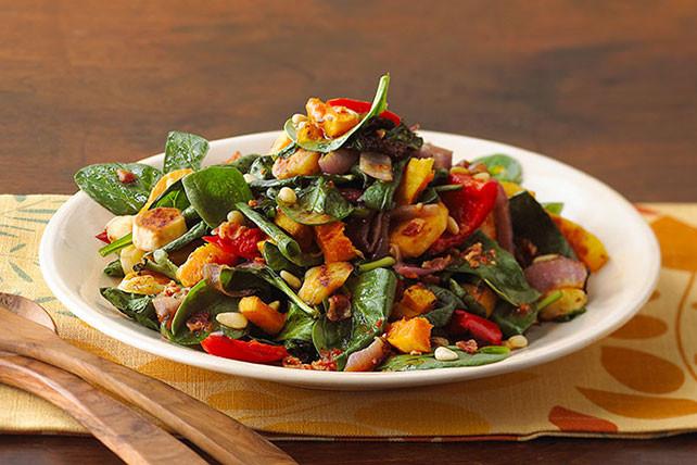 Fall Roasted Vegetables  Roasted Fall Ve able Salad Kraft Recipes