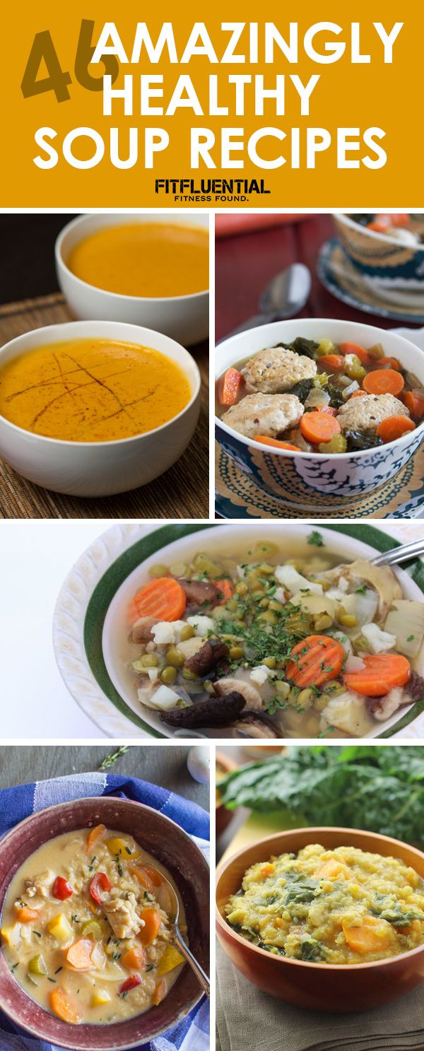 Fall Soups Healthy  46 Amazingly Healthy Soup Recipes